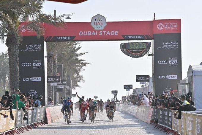 L'UAE Tour 2021 est très positive pour le bilan de Sam Bennett