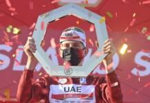 L'UAE Tour 2021 est remporté par Tadej Pogacar