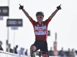 L'UAE Tour 2021 dominé pour le moment par Tadej Pogacar