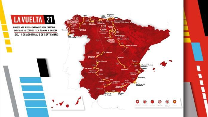 Le trace de la Vuelta 2021 est dévoilé