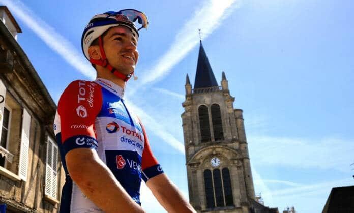 Anthony Turgis au départ de A Travers la Flandre 2021