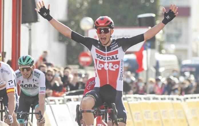 Andreas Kron a remporté la 1e étape du Tour de Catalogne 2021