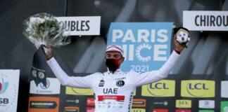 Brandon McNulty, 22 ans, est pour l'instant le meilleur jeune de Paris-Nice 2021
