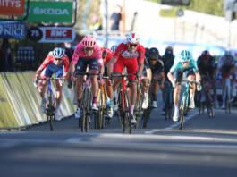 Christophe Laporte n'a pas su remonter Magnus Cort sur la dernière étape de Paris-Nice 2021