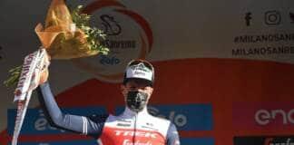 Classement complet Milan-Sanremo 2021 remporté par Jasper Stuyven