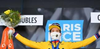 Classement complet de la 4e étape de Paris-Nice 2021 avec la victoire de Primoz Roglic