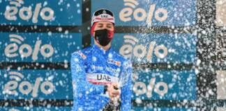 Classement général après l'étape 5 de Tirreno-Adriatico 2021