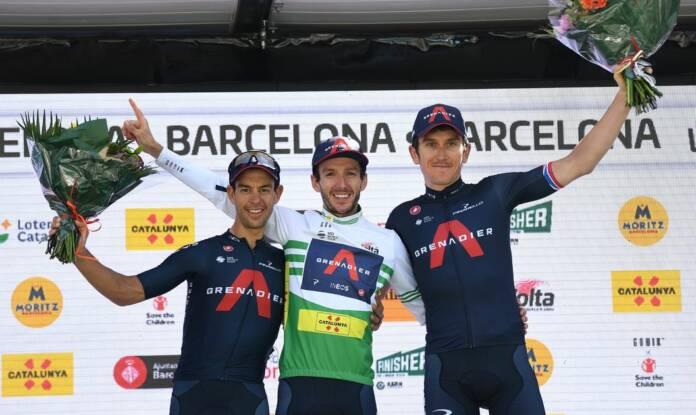 Classement général final du 100e Tour de Catalogne
