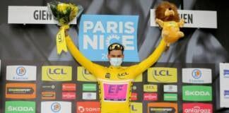 Stefan Bissegger nouveau maillot jaune de Paris-Nice 2021