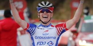 David Gaudu a pointé la 4e étape de Paris-Nice 2021