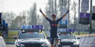 Dylan van Baarle a remporté en solitaire A Travers la Flandre 2021 !