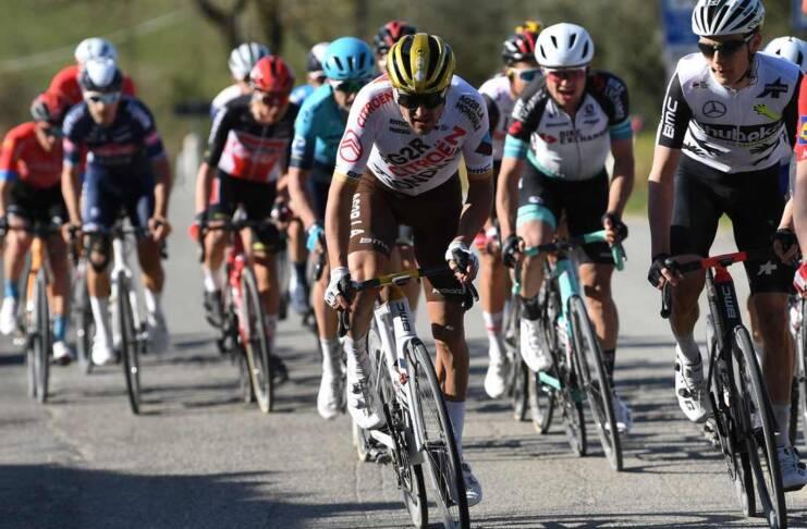 Greg Van Avermaet a terminé 19e des Strade Bianche 2021