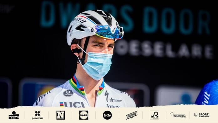Julian Alaphilippe a pris du plaisir à 3 jours du Tour des Flandres