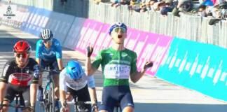 Victoire de Mads Wurth Schmidt sur la 6e étape de Tirreno-Adriatico 2021