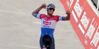 Mathieu Van der Poel s'adjuge les Strade Bianche 2021