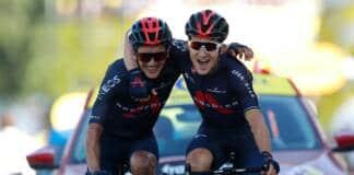 Michal Kwiatkowski, vainqueur d'étape sur le dernier Tour de France, a couru depuis plusieurs semaines avec une côte cassée