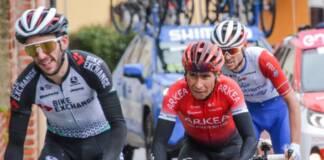 Nairo Quintana a terminé 22e la 5e étape de Tirreno-Adriatico