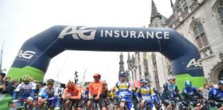 Les coureurs engagés à l'Oxyclean Classic Brugge-De Panne 2021