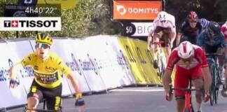 Paris-Nice, étape 6, seul Roglilc a battu Christophe Laporte