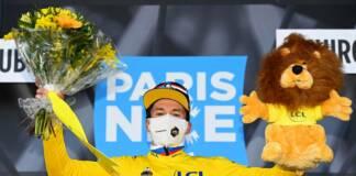 Primoz Roglic, nouveau leader au classement général de Paris-Nice 2021