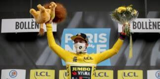 Classement général complet à l'issue de la 5e étape de Paris-Nice 2021