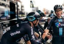 Romain Bardet s'est exprimé à l'arrivée des Strade Bianche 2021