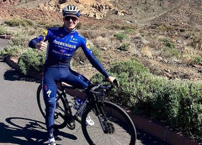 Remco Evenepoel s'entraine actuellement en Espagne pour préparer le Tour d'Italie
