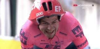 Stefan Bissegger a remporté la 3e étape de Paris-Nice 2021