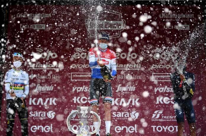 Le classement complet des Strade Bianche 2021 avec 118 coureurs à l'arrivée