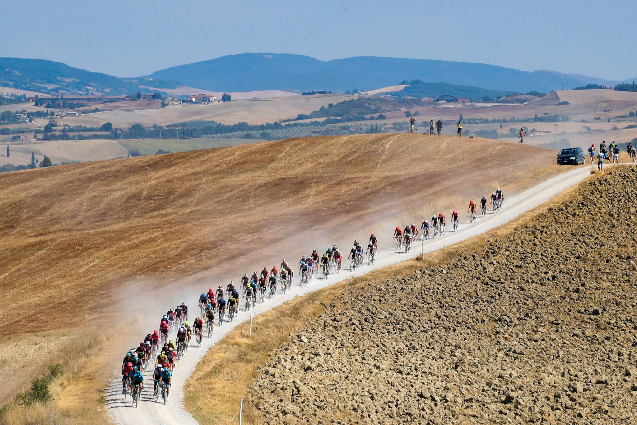La liste des coureurs engagés des Strade Bianche 2021 - TodayCycling