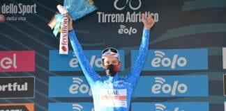Tadej Pogacar nouveau leader de Tirreno-Adriatico 2021