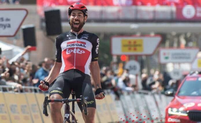 Thomas de Gendt remporte la 7e étape du Tour de Catalogne 2021