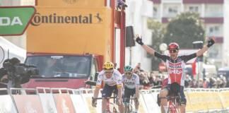 Andreas Kron premier vainqueur d'étape du Tour de Catalogne 2021