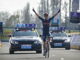 Dylan Van Baarle fait tout le final d'A Travers la Flandre en solitaire