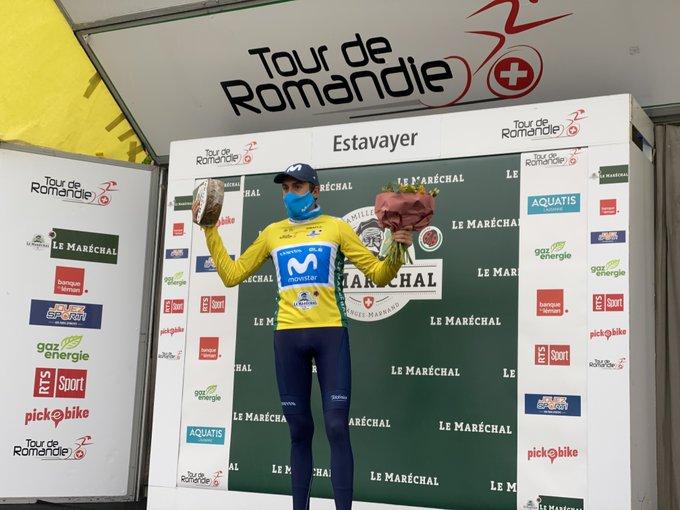 Marc Soler fait coup double sur la troisième étape du Tour de Romandie 2021