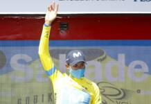 Enric Mas vainqueur de la 3ème étape du Tour de Valence 2021, il devient le nouveau leader