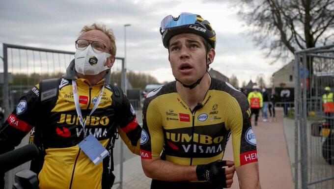 Wout Van Aert s'est imposé sur le fil sur l'Amstel Gold Race 2021