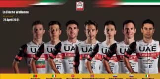 UAE Team Emirates ne prendra pas le départ de la Flèche Wallonne 2021