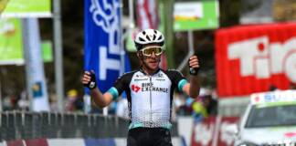 Simon Yates s'impose au sommet sur la deuxième étape du Tour des Alpes