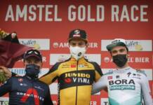 Wout Van Aert remporte l'Amstel Gold Race à la photo finish