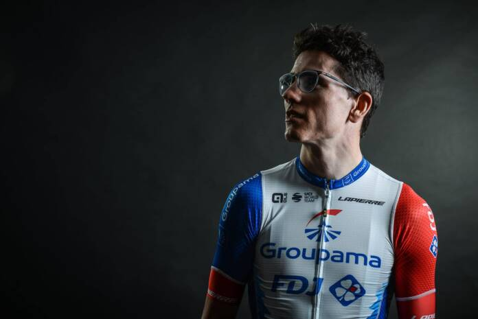 David Gaudu mène l'équipe Groupama-FDJ sur Liège-Bastogne-Liège 2021