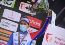 Liège-Bastogne-Liège se termine sur un podium pour Gaudu