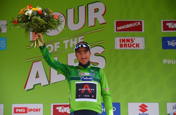 Gianni Moscon premier leader du Tour des Alpes