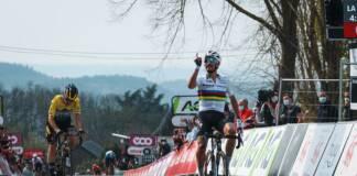 Julian Alaphilippe remporte la Flèche Wallonne 2021