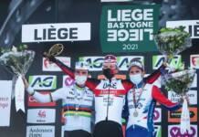 Tadej Pogacar vainqueur de son premier Liège-Bastogne-Liège