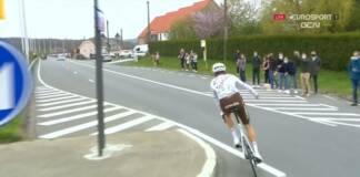 Le Tour des Flandres 2021 de Schär se termine pour un jet de bidon