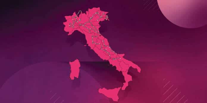 Tour d'Italie : Le parcours complet du Giro 2021.