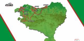 Le parcours complet du Tour du Pays-Basque avec tous les profils des étapes et les favoris.