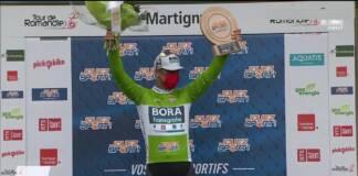 Le classement complet de la 1e étape du Tour de Romandie