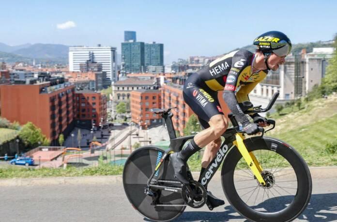 Primoz Roglic remporte le chrono du Tour du Pays-Basque 2021